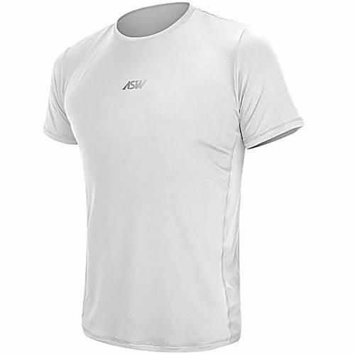 Camisa Segunda Pele ASW Manga Curta Branca - Grid Motors